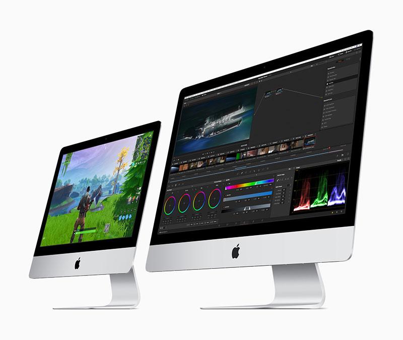 iMacがアップデート、27インチモデルは第9世代のIntel 8コアプロセッサも選択可能