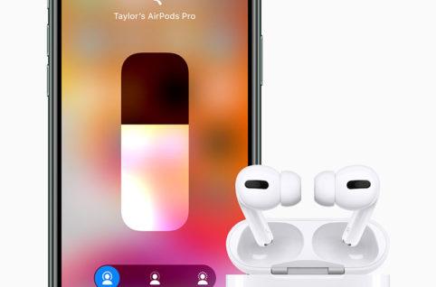 アップル、ノイズキャンセル搭載の「AirPods Pro」を発表